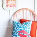 DIY Stenciled Pillow tutorial (via lollyjane.com)