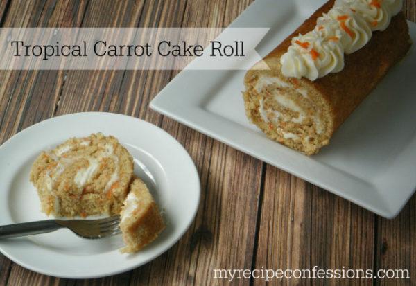 Tropical Carrot Cake via myrecipeconfessions.com