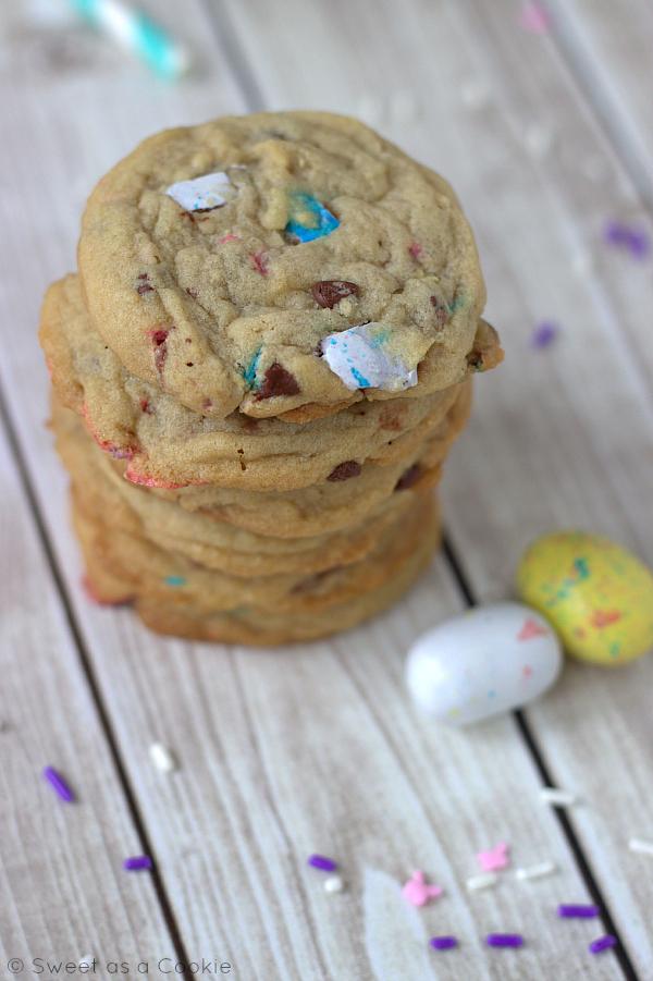 Whopper Robin Egg Cookies. Yum!