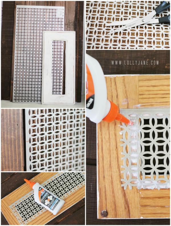 Diy Decorative Vent Cover Tutorial Make These Pretty