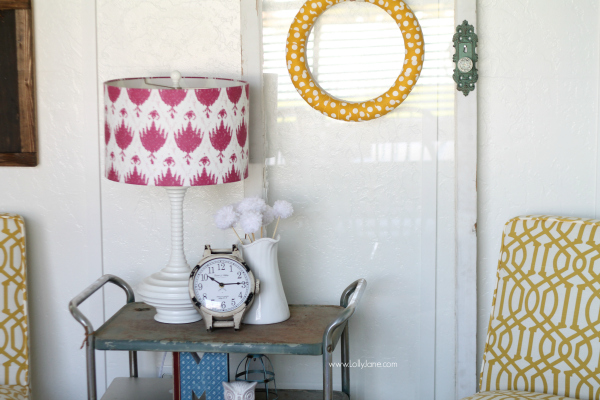 Craft room decor accessories via @lollyjaneblog