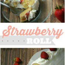 Strawberry roll recipe