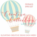 The Creative Collection link party! Link up your creativity now! (: