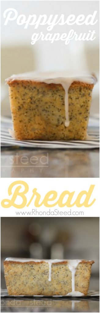 Poppyseed Grapefruit Loaf. Holy delicious breakfast- mmm!
