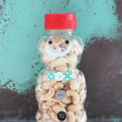 Father's Day bear snack jars