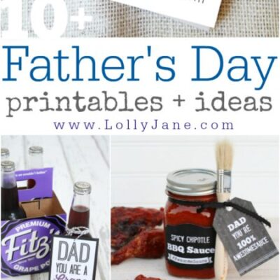 10 easy Father's Day printables and ideas