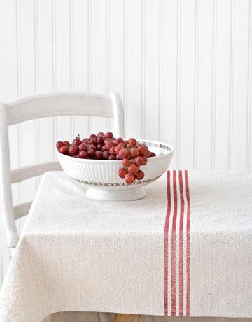 Grain Sack Table Cloth