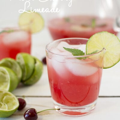 mint cherry limeade