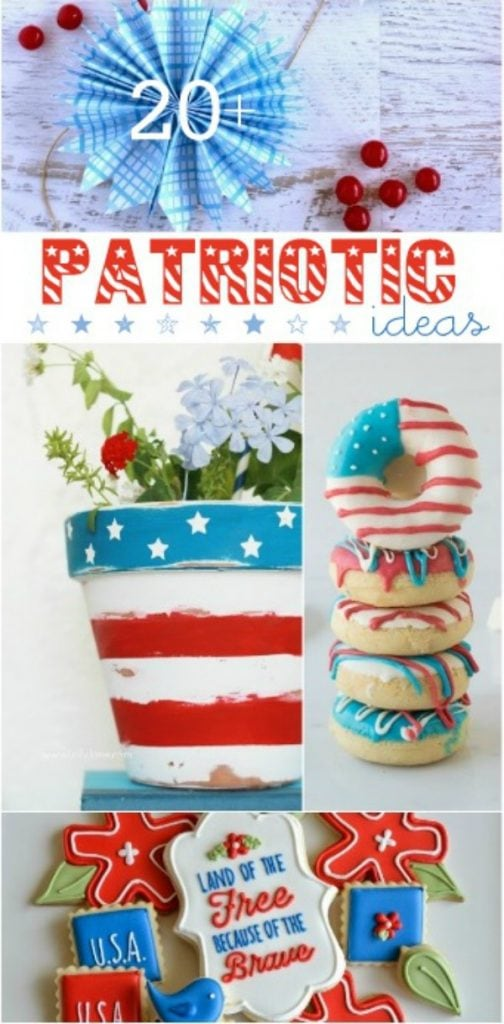 20+ cute Patriotic ideas! Great for the 4th of July |via lollyjane.com