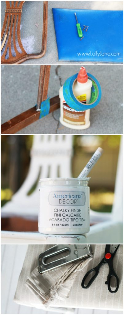 How To Upholster Chair