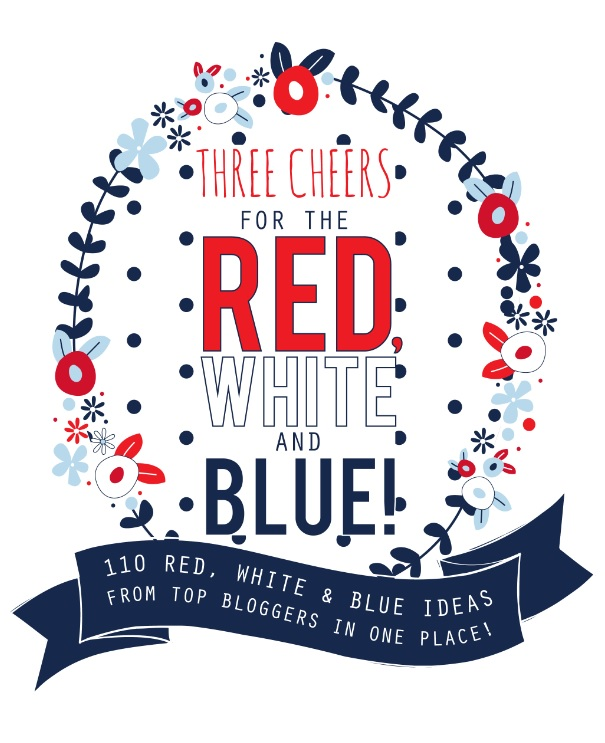 110 RED WHITE and BLUE patriotic hop!! SO many ideas!! #4thof July #patrioticideas