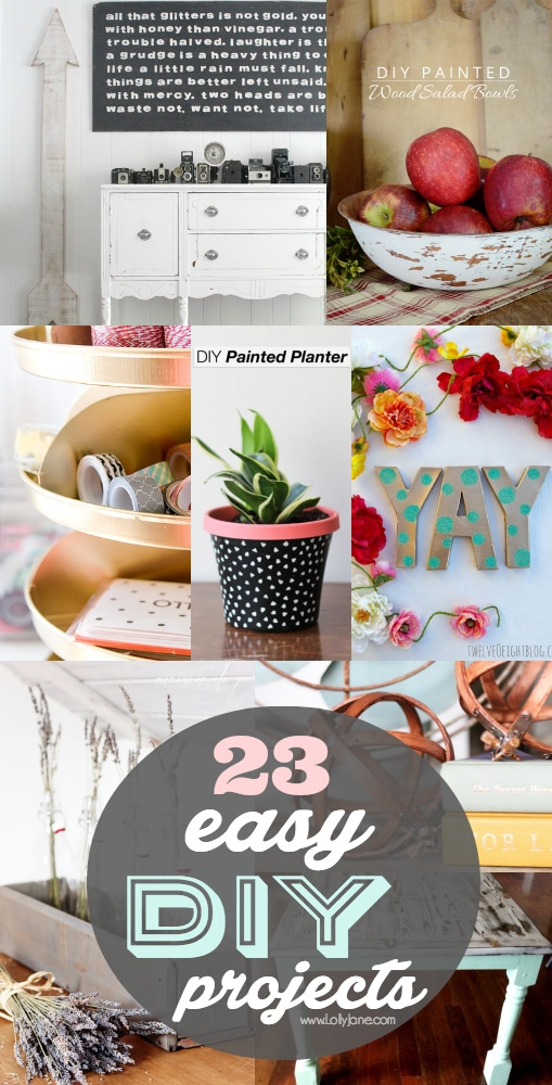 23 easy DIY projects