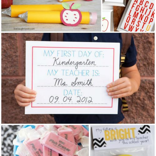 50+ back to school ideas and printables!
