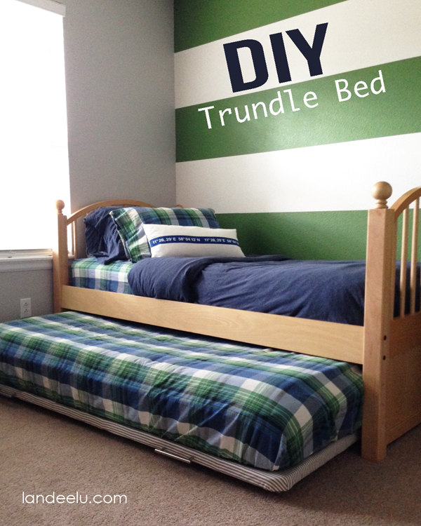 DIY Trundle Bed