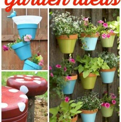 15+ DIY outdoor garden ideas