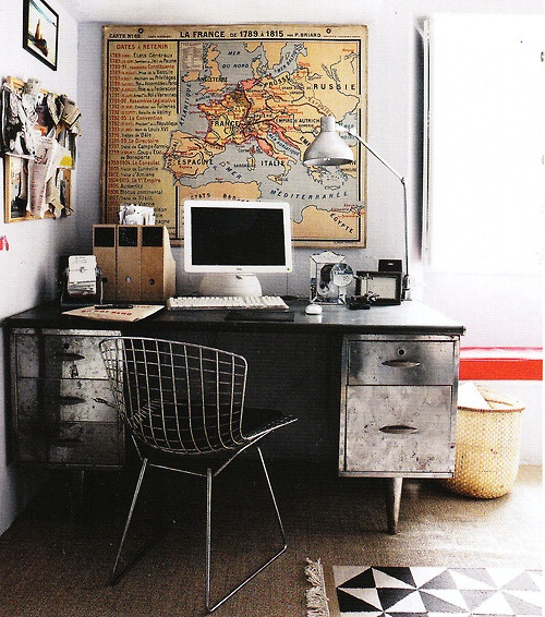 Pinterest Home Decor 2014: Masculine Home Office Ideas