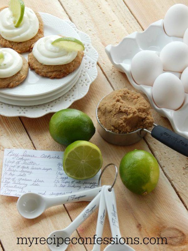 Key Lime Pie Cookies | myrecipeconfessions.com