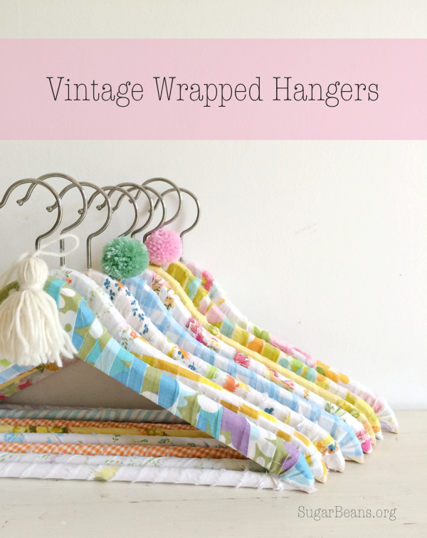 Vintage Wrapped Hangers
