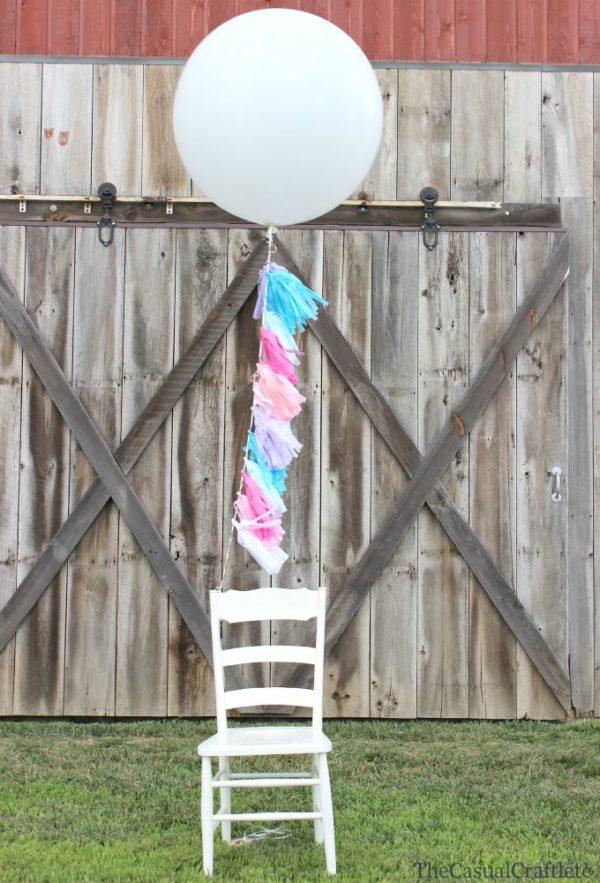 Tissue Paper balloons
