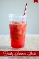 Yummy fruity summer slush recipe...so easy and super refreshing!