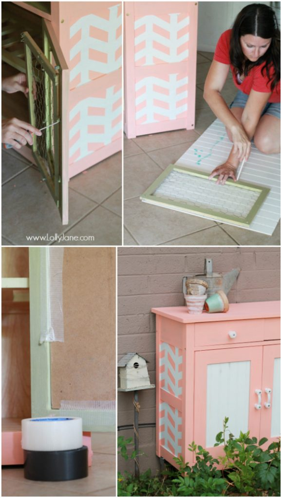 How to make bead board door inserts, so easy!