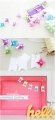 Quick + simple pinwheel bunting.   lollyjane.com