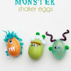 Monster shaker eggs