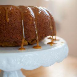 butterscotch almond poke cake