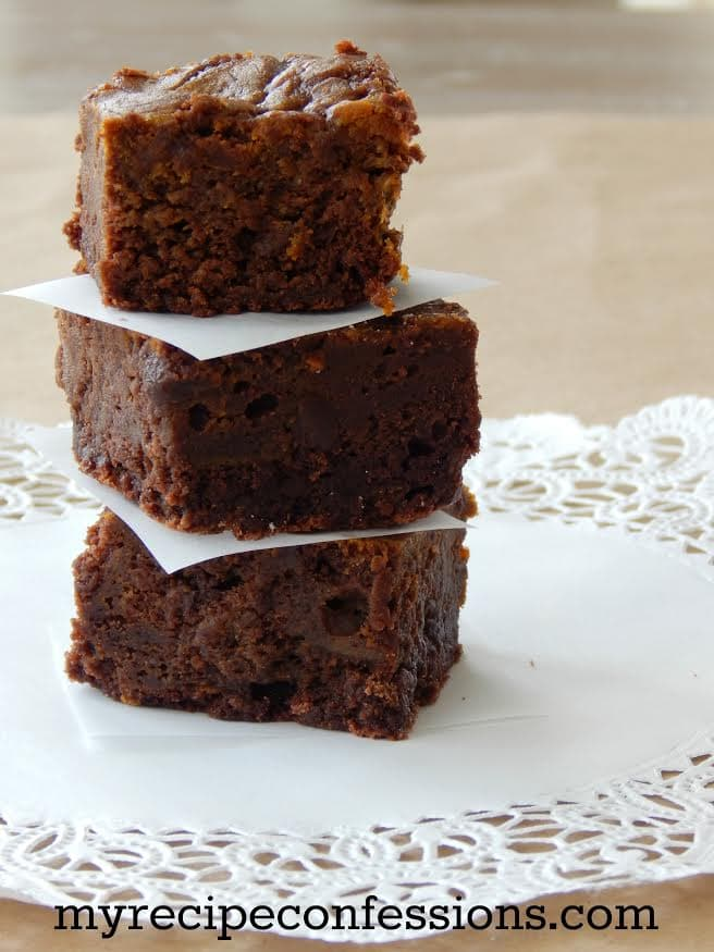 The best Pumpkin Brownies | lollyjane.om