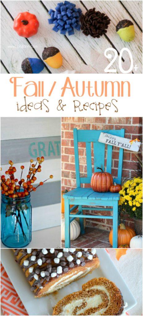 20+ autumn ideas and recipes