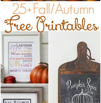 25+ Free Fall Printables to Decorate Your Home