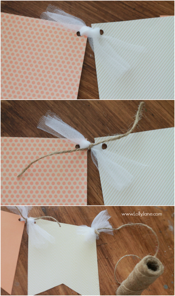 Fall Paper Bunting