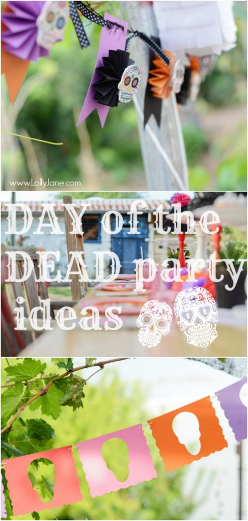 Day of the Dead party ideas | lollyjane.com