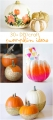 30+ DIY/craft pumpkin ideas | lollyjane.com