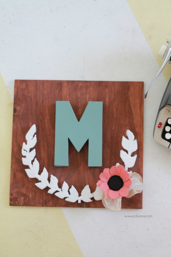 Simple Check out all of our foam ideas like our favorite faux deer head pallet art that BHG magazine featured last month