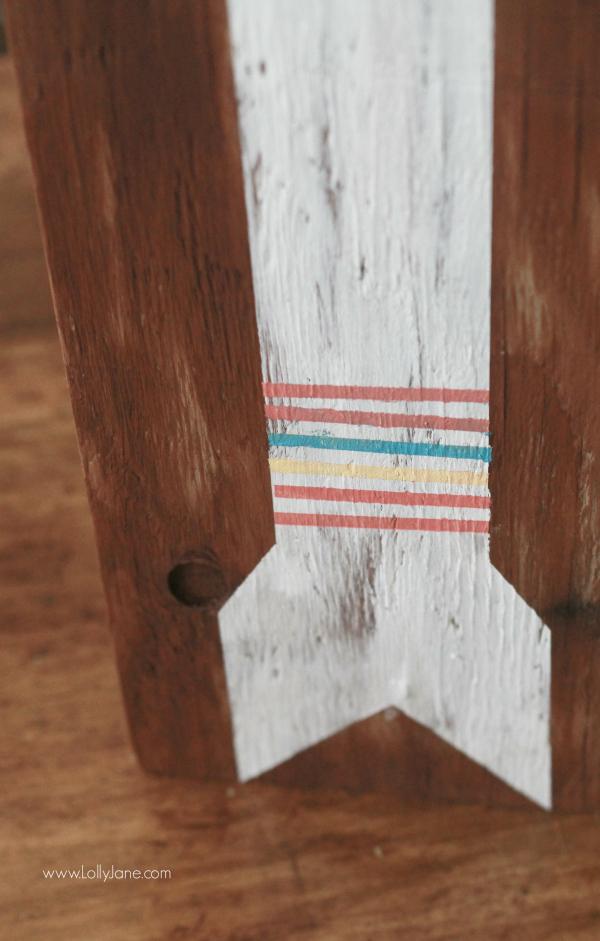 DIY | hand painted arrow sign --- srcset=