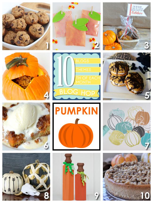 10 pumpkin decor + dessert ideas!