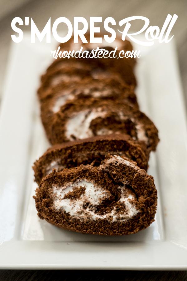 S'Mores Roll Dessert |rhondasteed.com