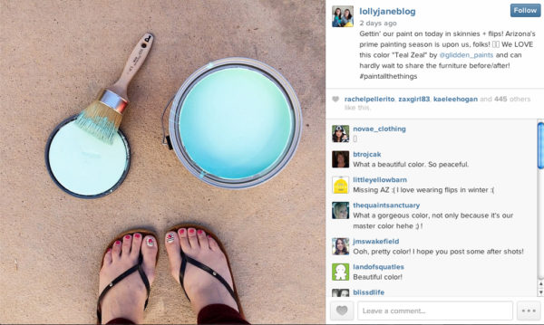 """Love this color """"Teal Zeal"""" by Glidden. Gorg!"""