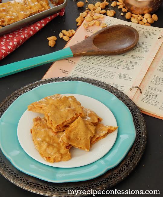 easy-microwave-peanut-brittle-recipe