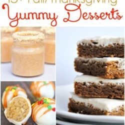 15+ Fall/Thanksgiving yummy desserts