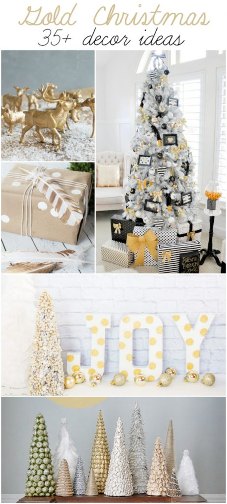 Decorating Ideas > Gold Christmas Decor Ideas ~ 060045_Christmas Decorating Ideas Gold