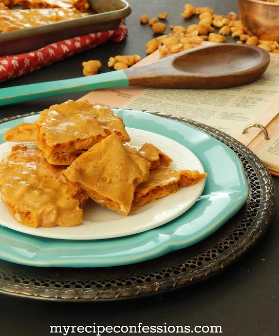 how to make peanut brittle in the microwave