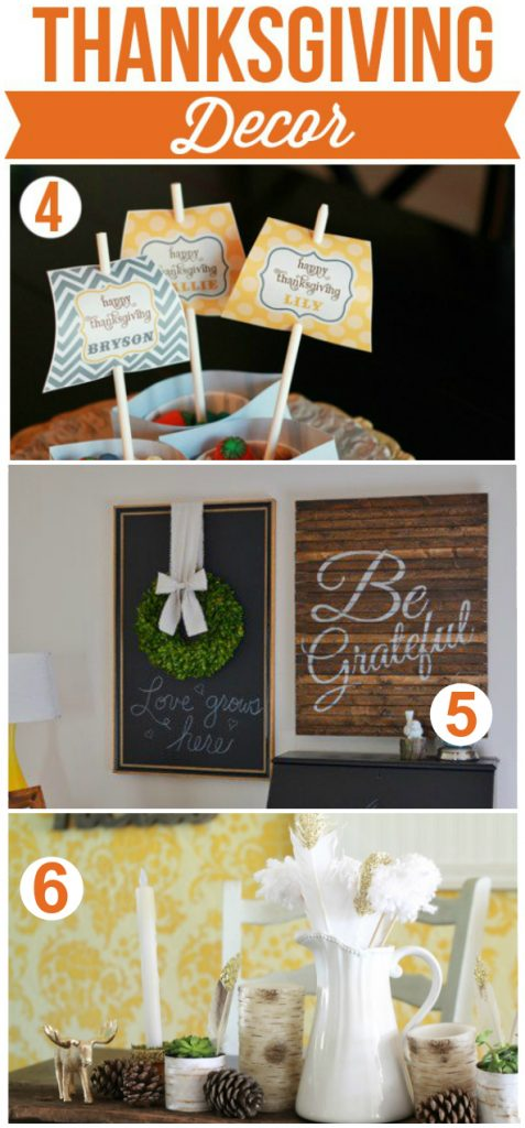 Memorable Thanksgiving Ideas, lots of yummy fall recipes, cute Thanksgiving decor and Thanksgiving entertainment ideas!