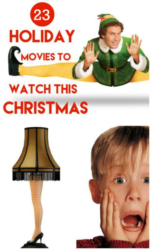 23 holiday movies to watch this Christmas season!