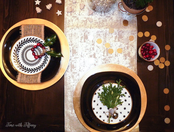 Holiday Party Table Setting Tips |via TimeWithTiffany
