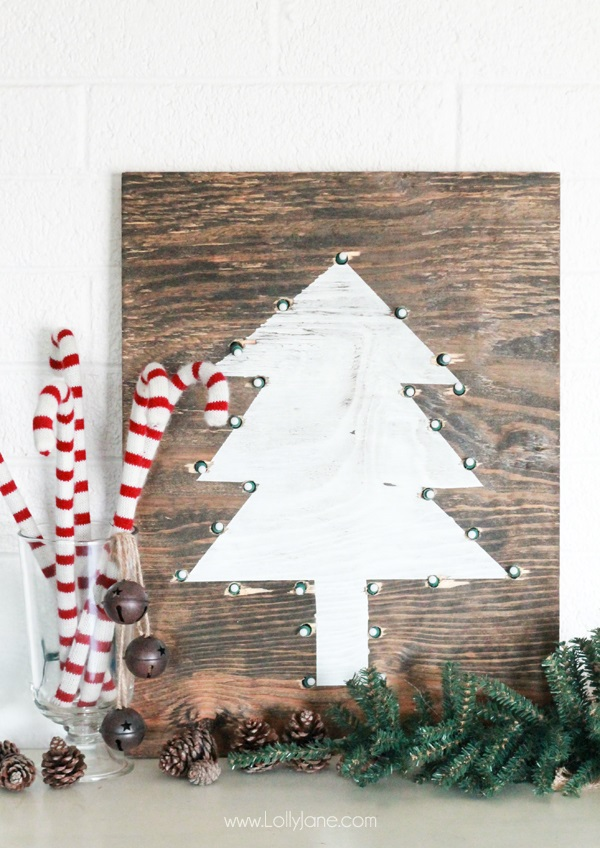Diy rustic marquee holiday tree sign diy tree marquee sign easy tutorial how to make this cute rustic christmas sign solutioingenieria Images