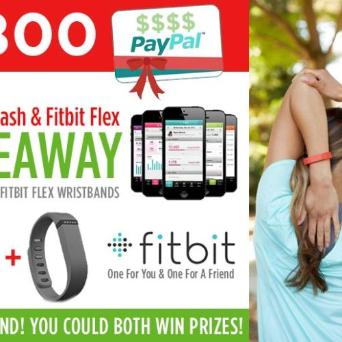 Win $800 Cash + Fitbit Giveaway