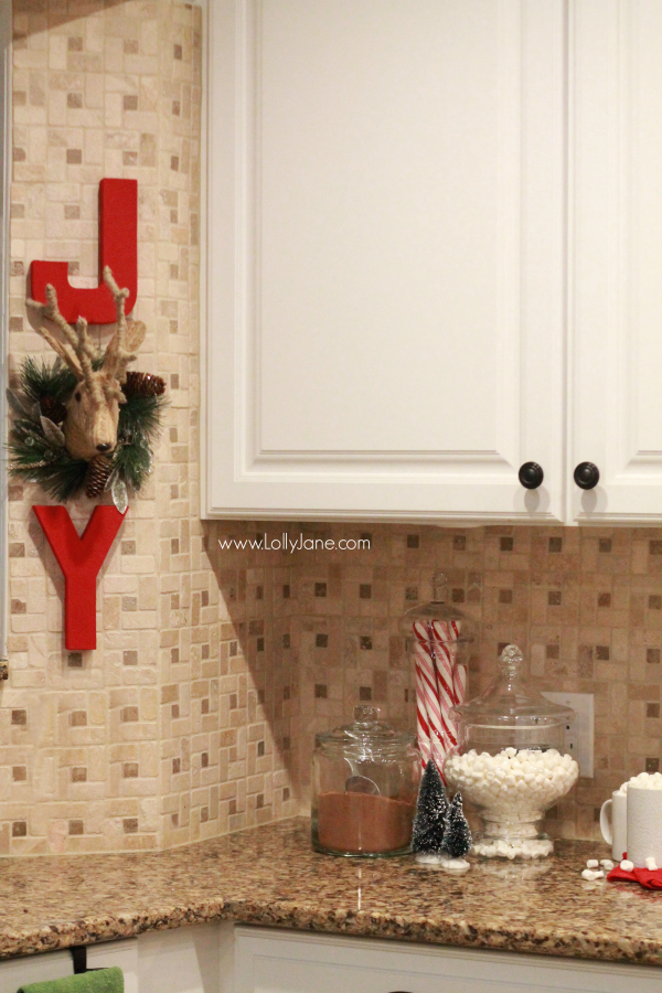 Easy Diy Christmas Wall Decorations : Easy christmas kitchen decor ideas