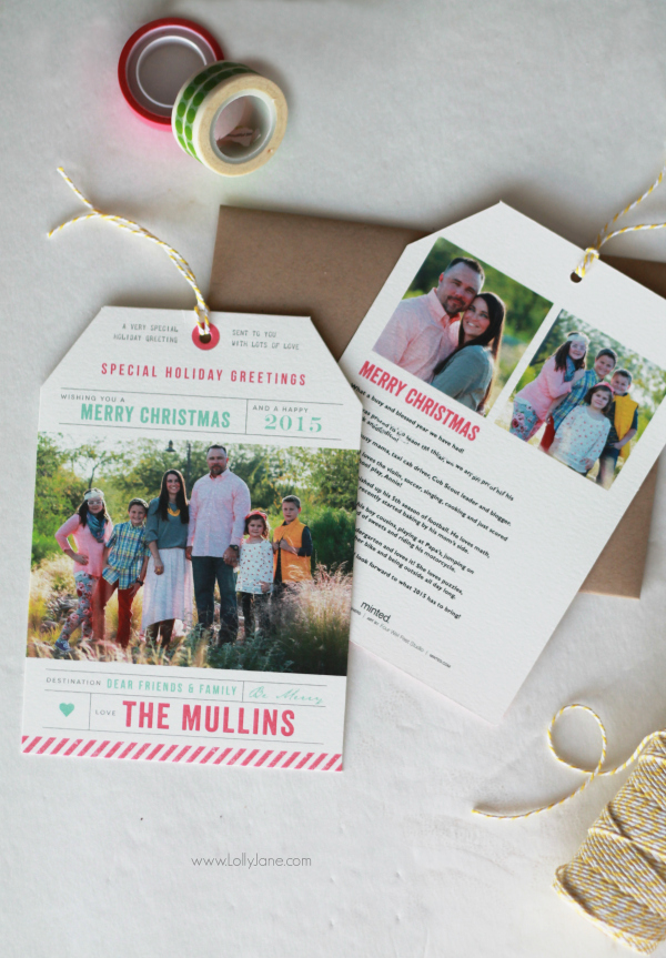 minted: the cutest Christmas cards around! LOVE them!!
